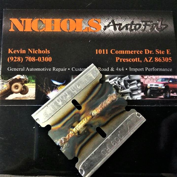 Nichols AutoFab build gallery